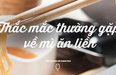 Acecook Việt Nam ra mắt chuyên trang về mì ăn liền