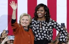 Bà Clinton mời bà Obama làm việc trong nội các