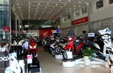 6 tháng tiêu thụ hơn 1,44 triệu xe máy