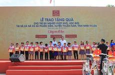 """""""Tôn Hoa Sen - Cùng em đi học"""" tại Ninh Thuận"""