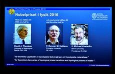 Nobel Hóa học vinh danh thành tựu về 'cỗ máy phân tử'