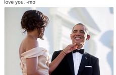 Lời tình tứ của bà Obama trong ngày sinh nhật chồng
