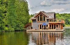 Đắc thủy, tài lộc khi xây nhà gần hồ