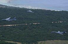 3 siêu máy bay ném bom B-1, B-2, B-52 cùng tới biển Đông