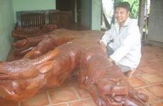 Độc đáo bộ bàn 'lạ' ở Bình Minh