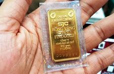 Một lượng vàng miếng seri ngũ quý 9 bán giá 100 triệu