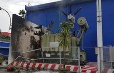 Điện lực TP HCM xin lỗi về sự cố cháy trạm biến áp