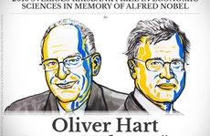 Nobel Kinh tế cho Oliver Hart và Bengt Holmström