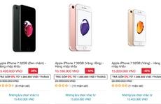 Smartphone trong nước giảm giá ăn theo ngày Black Friday