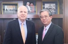 Đại sứ Việt Nam gặp Chủ tịch Uỷ ban Quân vụ Thượng viện Mỹ