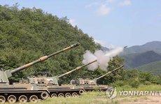 Hàn Quốc tập trận pháo binh 'dằn mặt' Triều Tiên