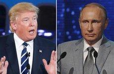 Tổng thống Putin và ông Trump lần đầu điện đàm