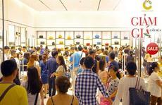Sự kiện giảm giá cực hot tại Crescent Mall