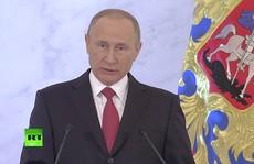 Tổng thống Putin đọc thông điệp liên bang 'khác biệt'