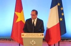 Tổng thống Hollande: Tình hữu nghị Việt - Pháp muôn năm