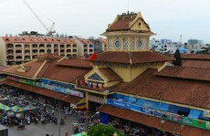 Chợ Bình Tây chính thức đóng cửa sửa chữa lớn