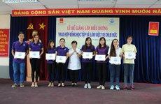 Trường Quang Trung trao hợp đồng làm việc tại Đức cho 60 học sinh