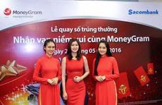 Sacombank tìm ra 21 khách hàng trúng thưởng khuyến mãi