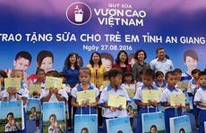 Quỹ Sữa vươn cao Việt Nam đến An Giang