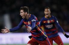 Messi ghi cú đúp, Barcelona nhấn chìm Espanyol