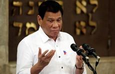 """Ông Duterte: Lời hứa ngưng chửi thề chỉ là """"trò đùa"""""""