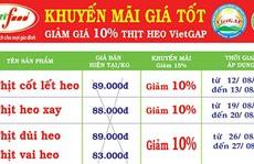 Sagrifood giảm giá thịt heo 10%