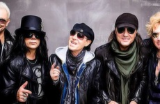 """Ban nhạc Scorpions đến Việt Nam """"nhả độc"""""""