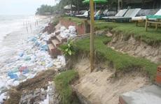 Sốt ruột bờ biển sạt lở - Doanh nghiệp tìm giải pháp