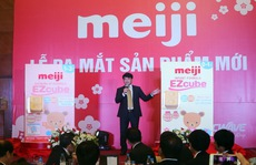 Meiji ra mắt sản phẩm xuất khẩu chính hãng