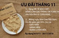 Sen Spa ưu đãi mừng ngày Nhà giáo Việt Nam