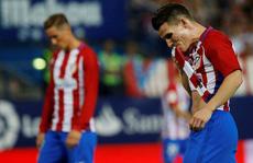 Ghi bàn phút 93, Atletico vẫn bị tân binh Alaves cầm hòa