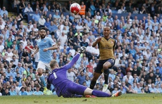 Man City có nguy cơ mất tốp 4 sau khi hòa Arsenal