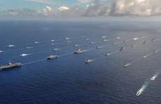 Trung Quốc gửi tàu chiến tập trận hải quân với Mỹ