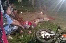 Xe tải tông xe máy, 3 người một gia đình thương vong
