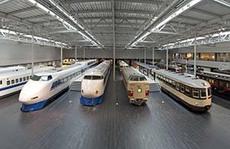 Hấp dẫn bảo tàng tàu xe ở Aichi