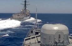 Mỹ đáp trả cáo buộc 'áp sát nguy hiểm' ở Địa Trung Hải của Nga