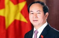 Chủ tịch nước Trần Đại Quang gửi thông điệp năm mới 2017