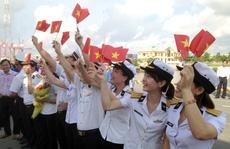 C.P. Việt Nam tham gia 'Hành trình tuổi trẻ vì biển đảo'
