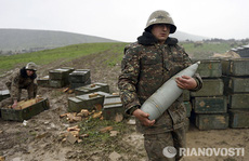 IS xen vào xung đột Azerbaijan - Armenia