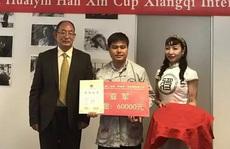 Kỳ thủ Lại Lý Huynh giành cúp bạc cờ tướng Hàn Tín bôi