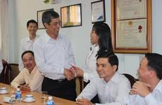 Lãnh đạo LĐLĐ TP HCM thăm các đơn vị trực thuộc