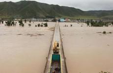 Lũ lụt nghiêm trọng tàn phá Triều Tiên