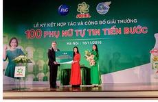 Giải thưởng 1 tỉ đồng dành cho 100 phụ nữ Tự tin tiến bước