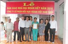 Vedan Việt Nam trao tặng 25 nhà tình thương