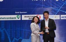 Vietcombank nhận giải 'Nhà tạo lập thị trường xuất sắc' 2015