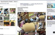 Hàng xách tay từ online ra cửa hàng thật