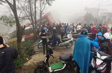 Bà chủ xe khách bị xe buýt tông chết