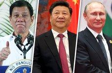 Ông Duterte đi gặp 'người anh hùng yêu thích'