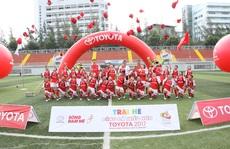 Hồng Sơn, Minh Tuấn khai mạc khóa tập huấn hè bóng đá thiếu niên Toyota 2017