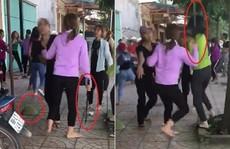 2 nhóm thiếu nữ dùng hung khí lao vào 'hỗn chiến' tả tơi